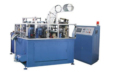 Paper Bowl Making / Forming Machine 19 kw Middle Speed Servo Control Ultrasonic Sealing