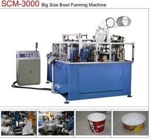China 19KW 80pcs/min Paper Bowl Machine Servo Control Large Dimension Ultrasonic Sealing distributor